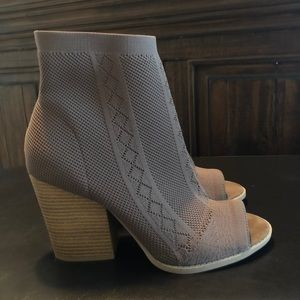Stretch Knit Booties
